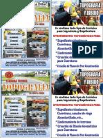 Afiche de Topografia