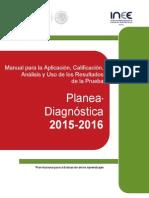 Planea Diagnóstica 2015sacar Desempeño – 2016