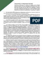 LEYES DE PROTECCIÓN A LA TRABAJADORA GESTANTE