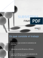 SubSistema Financiero