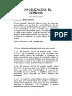 Evangelización Para El Pueblo Gitano, El Kerigma
