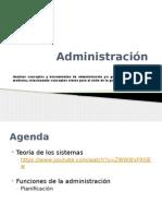 Administracion de empresas Clase 3