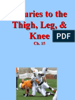 Injuries to the Thigh, Leg, & Knee (Ch. 15)