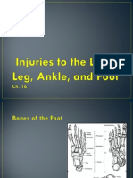 Injuries to the Lower Leg, Ankle, & Foot (Ch. 16)