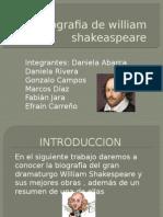 Biografia de William Shakeaspeare