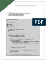 Programación puerto serial Java