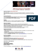 Tribeca New Music Competition 2015