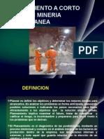 Planeamiento de Minado en Mineria Subterranea