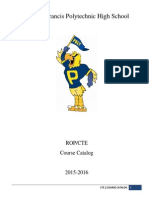 2015-2016 CTE Course Catalog