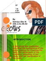 Satriyo - An Analyze of Juvenile Delinquency in Manga CROWS