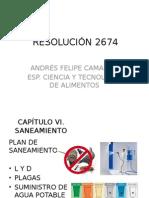 RESOLUCIÓN 2674