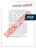 Peristiwa Bandung Lautan API Terjadi Karena Pasukan Inggris Mulai Memasuki Kota Bandung Sejak Pertengahan Bulan Oktober 1945