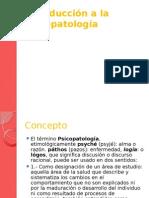 1. Introduccion a La Psicopatologia