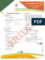 Solucionario UNI 2012-II(Matemática)