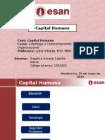 Capital Humano Indicadores para Peru
