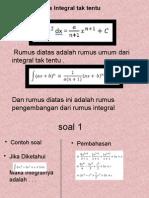 Integral matematika wajib