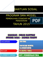Bansos SMA Model Th. 2015