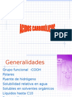 ACIDOS CARBOXILICOS2015