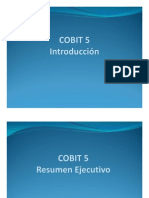 COBIT 5.0 introduccion
