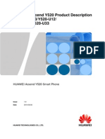 D All Product Smartphone Y Series Y520-U22 HUAWEI Y520 Smart Phone Product Description V1.0