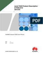 D All Product Smartphone Y Series Y520-U22 HUAWEI Y520 Smart Phone Product Description V1.0
