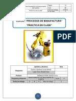 Procesos de Manufactura - Practica