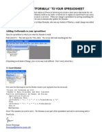 Adding Getformula to Your Spreadsheet