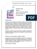 Sintese Livro Didatica-libaneo