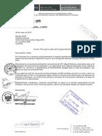 Carta de agradecimiento al CIP