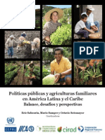 Politica Public as Agricultural Es