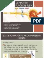 Depuracion Renal