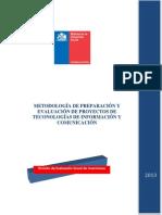 Metodologia Evaluacion Proyectos TICS MIDESO 2013