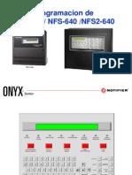 Presentacion Nfs-640 Programacion Manual