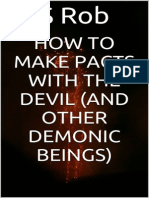 How to Make Pacts With the Devil