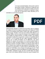 Alto Ejecutivo Ayudó Al MP a Desenredar Madeja de Pagos