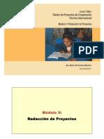 5 - Modulo 5 - Redaccion de Proyectos