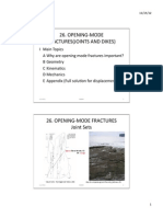 Lec.26.2012.pptx OPENING-MODE FRACTURES (JOINTS AND DIKES)