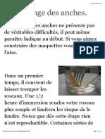 Le Montage Des Anches. - Chez Vintz