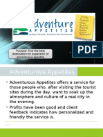Adventuroes Appetites