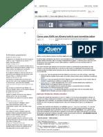 Como Usar AJAX Con JQuery Todo Lo Que Necesitas Saber - Código Fuente