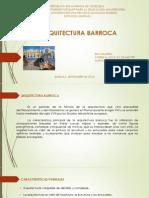 ARQUITECTURA BARROCA