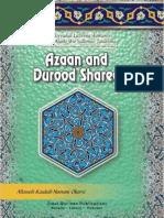 Azaan & Durood Shareef