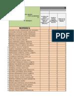 Lista de Caract. Individuales