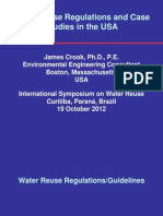 17. Projetos e Regulação de Reúso de Água Nos Estados Unidos
