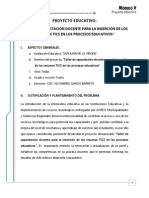 Proyecto Educativo Tics