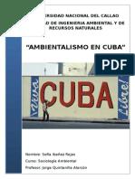 Ambientalismo en Cuba