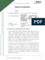Esquema Proyecto Educativo Perueduca