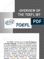 Overview of the TOEFL IBT