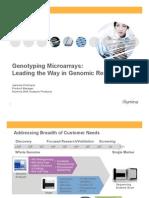 Genotyping Microarrays