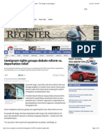 immigrant-rights groups debate reform vs  deportation relief - the orange county register